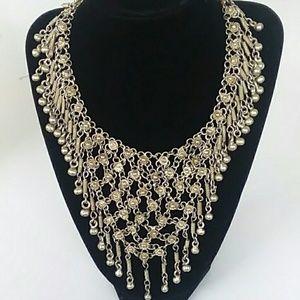 Vintage Art Deco Bib Style Necklace